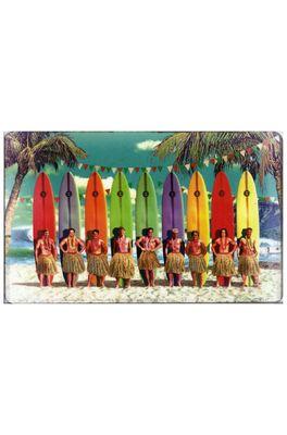 Lip International ontbijtplank surfer men multicolor