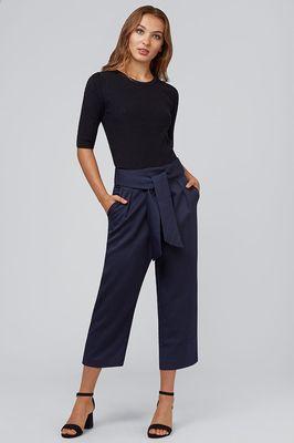 Louche broek meredith blauw
