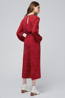 Louche jumpsuit venise rood