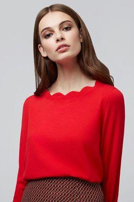 Louche trui sonja rood