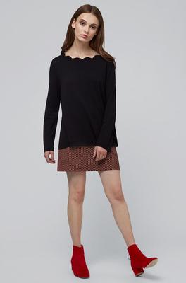 Louche trui sonja zwart
