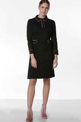 Mademoiselle Yeye jurk zwart