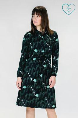 Mademoiselle yeye jurk fantastique dress groen