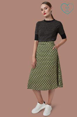 Mademoiselle yeye rok  groen