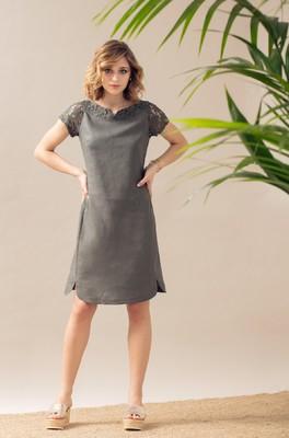Maloka jurk raima kaki