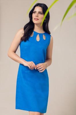 Maloka jurk raven blauw
