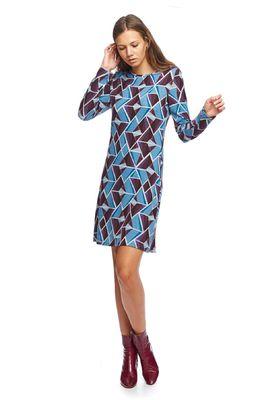 MdM jurk blauw