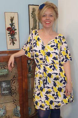 MdM jurk geel