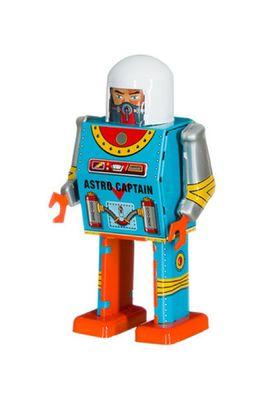 Mechato robot Astro Captain blauw