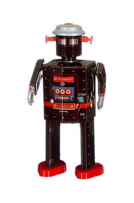 Mechato robot Atomic Man bruin