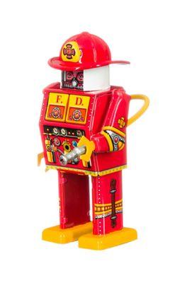 Mechato robot Brandweer rood
