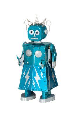 Mechato robot Electra II blauw