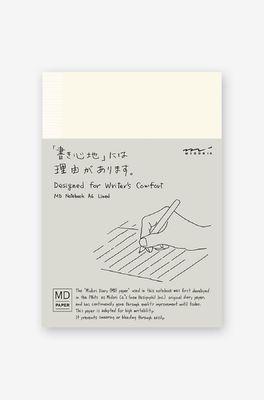 Midori Paper Products notebooK A6 lines ecru