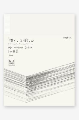 Midori Paper Products notebook cotton F0 ecru