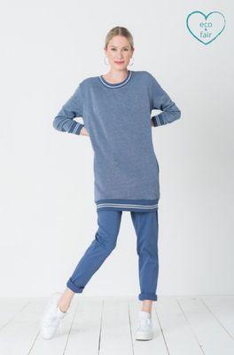 Miss Green broek billie jean blauw