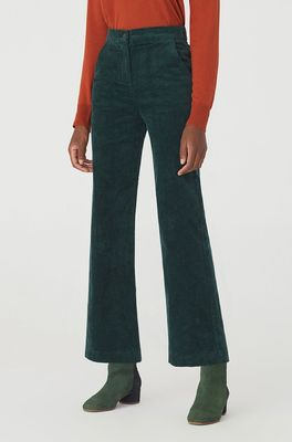 Nice Things broek corduroy pants groen