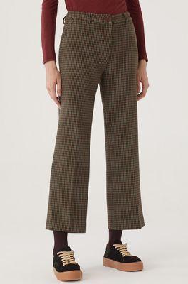 Nice Things broek houndstooth pants multicolor
