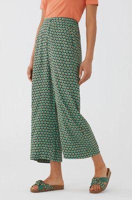 Nice Things broek pants peace dot groen