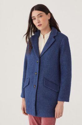 Nice Things jas  blauw