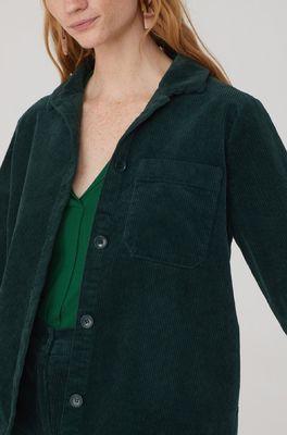 Nice Things jas corduroy jacket groen