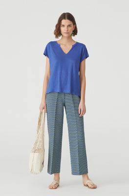 Nice Things shirt blauw