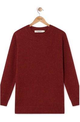 Nice Things trui WKH056 rood