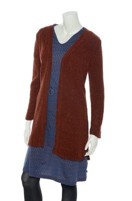 Nice Things vest bruin WKF055