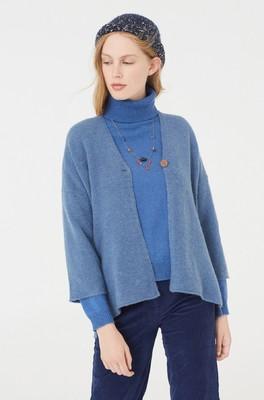 Nice Things vest WKH005 blauw