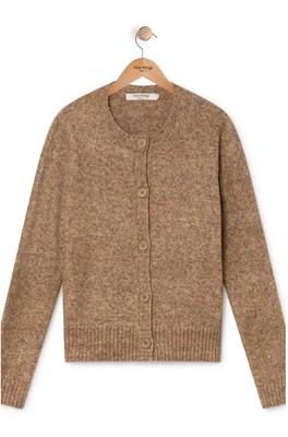 Nice Things vest WKH021 bruin