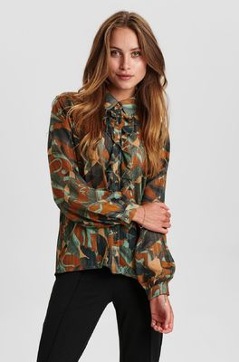 Nümpf bloes nucalixta shirt multicolor