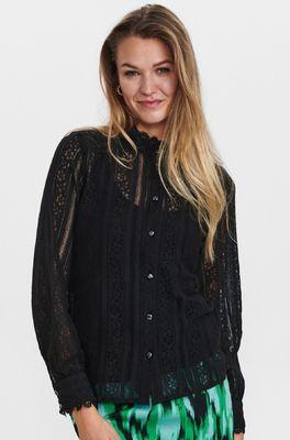 Numph bloes nucorel shirt  zwart