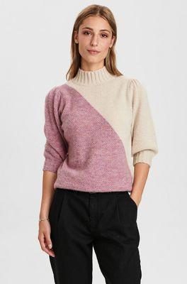 Numph trui nucalypso pullover ss roze