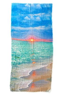 Otracosa shawl monet  impression sunrise