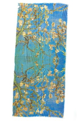 Otracosa shawl van gogh almond blossom
