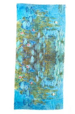 Otracosa shawl monet giverny waterplants