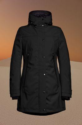 Reset jas  zwart