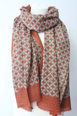 Sjaelz shawl  bruin