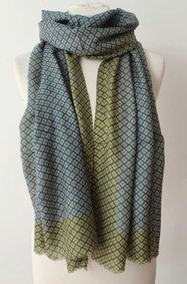 Sjaelz shawl  groen