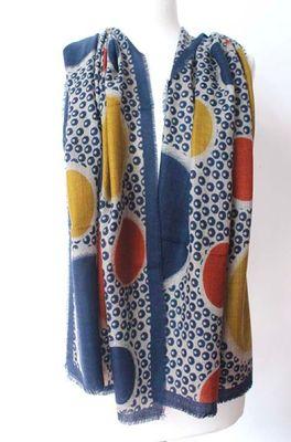Sjaelz shawl  multicolor