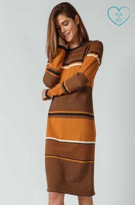 SKFK (Skunkfunk) jurk durne bruin