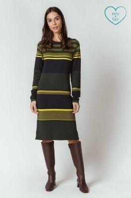 SKFK (Skunkfunk) jurk durne multicolor
