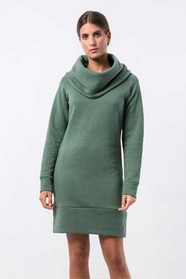 Skunkfunk jurk kalisha groen