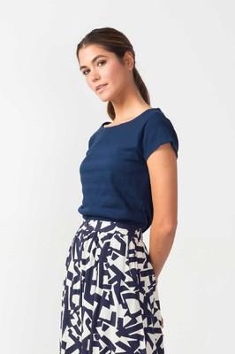 Skunkfunk shirt hogeitalau blauw