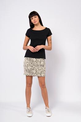 Skunkfunk shirt hogeitalau zwart
