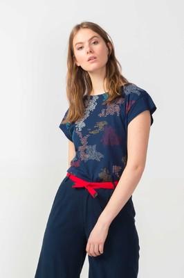 Skunkfunk shirt oineka blauw