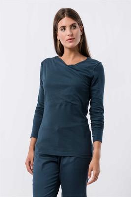 Skunkfunk shirt bi blauw