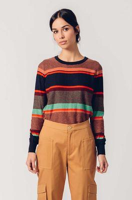 Skunkfunk trui  multicolor
