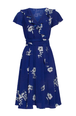 Smashed Lemon jurk blauw