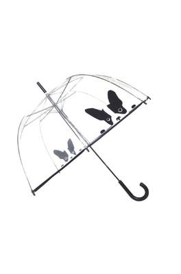 Smati paraplu transparant hond