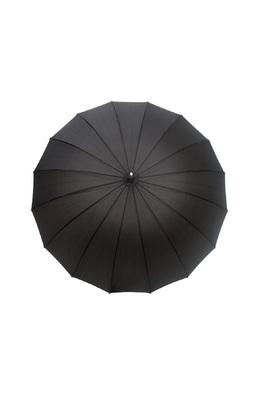 Smati zwarte ronde paraplu